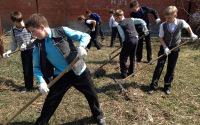 Общественно полезный труд школьников