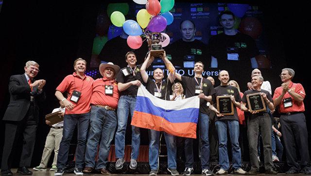Петербургские программисты – чемпионы международной олимпиады
