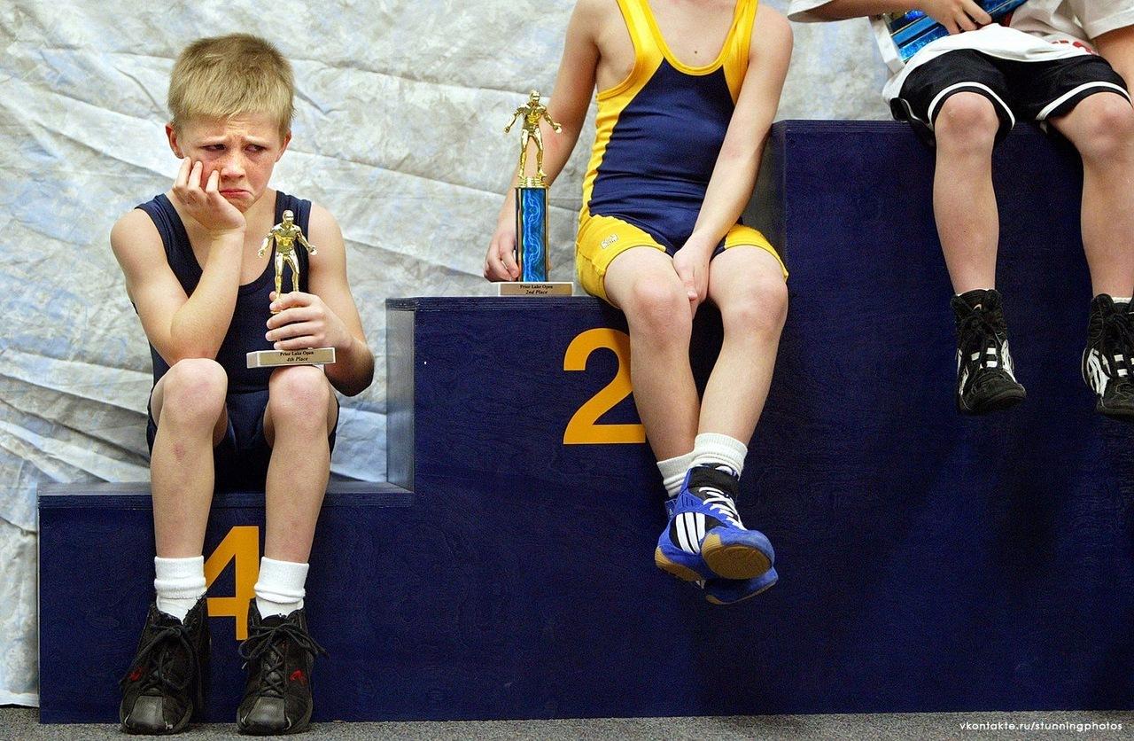 Как утешить ребенка после неудачных соревнований