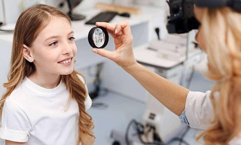 Почему падает зрение у ребенка