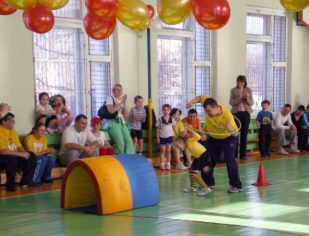 Конкурс с детьми и родителями