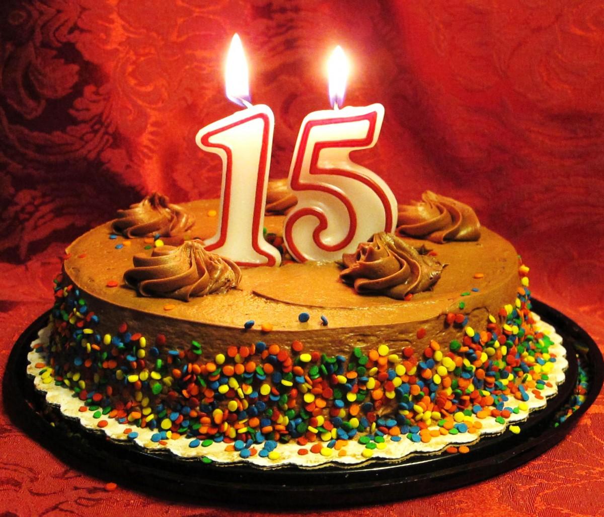 Поздравления на пятнадцатилетие девочке